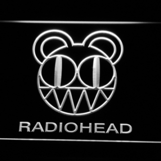 Radiohead neon sign LED