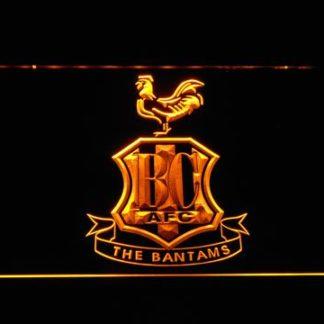 Bradford City AFC Crest neon sign LED