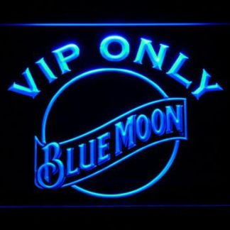 Blue Moon VIP Only neon sign LED