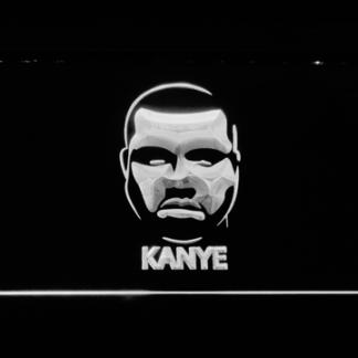 Kanye West Face neon sign LED
