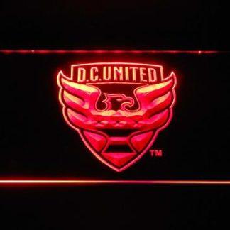 D.C. United neon sign LED