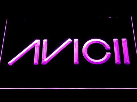 Avicii neon sign LED