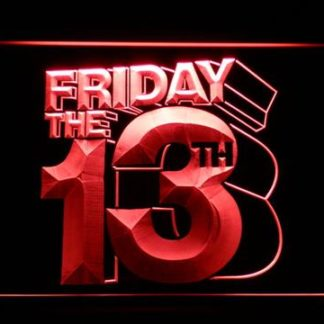 Friday The 13th neon sign LED