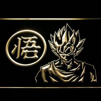 Dragon Ball Z GT  Super Saiyan Son Goku neon sign LED