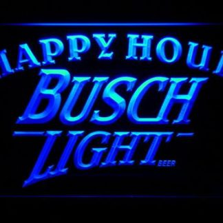Busch Light Happy Hour neon sign LED