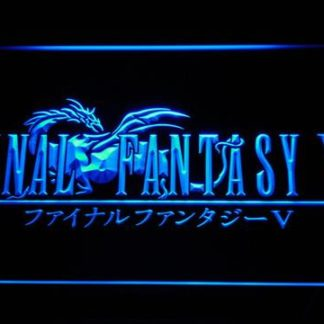 Final Fantasy V neon sign LED