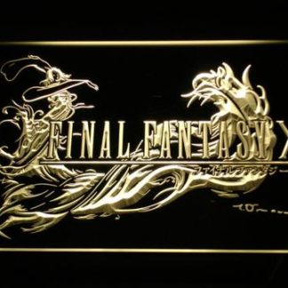 Final Fantasy X neon sign LED