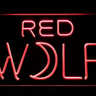 True Blood Red Wolf neon sign LED