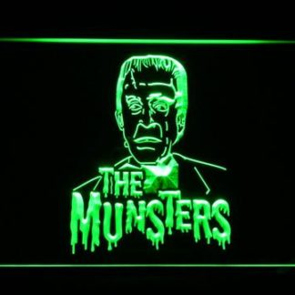 The Munsters Herman neon sign LED