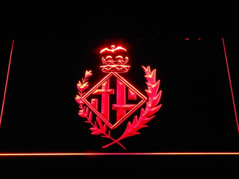 FC Barcelona Coat of Arms - Legacy Edition neon sign LED