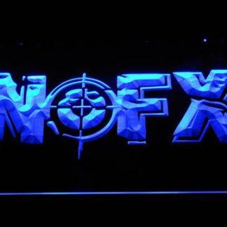 NOFX Target Logo neon sign LED