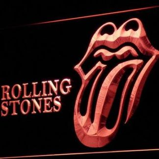 Rolling Stones neon sign LED