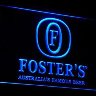 Foster's neon sign LED
