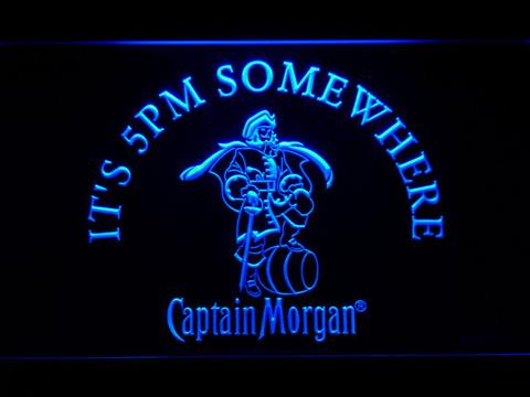 Captain Morgan It's 5pm Somewhere neon sign LED
