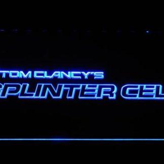 Tom Clancy's Splinter Cell neon sign LED