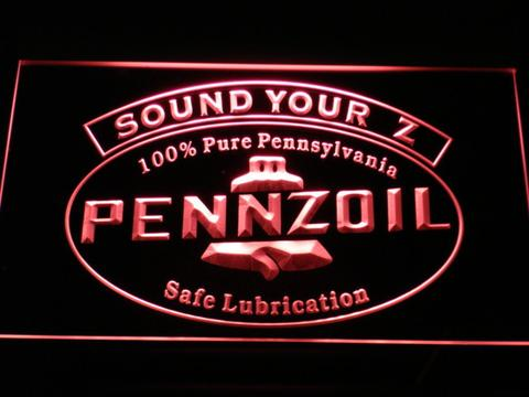 Pennzoil Sound Your Z neon sign LED