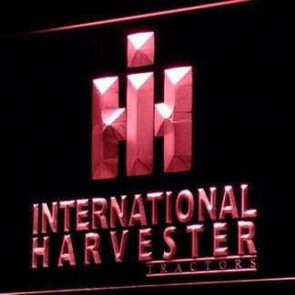 International Harvester Tractors neon sign LED