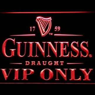 Guinness Draught VIP Only neon sign LED