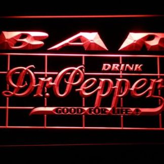 Dr Pepper Bar neon sign LED