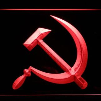 Hammer and Sickle neon sign LED