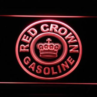Red Crown Gasoline neon sign LED