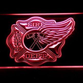 Fire Department Detroit neon sign LED