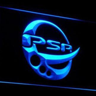PlayStation PSP neon sign LED