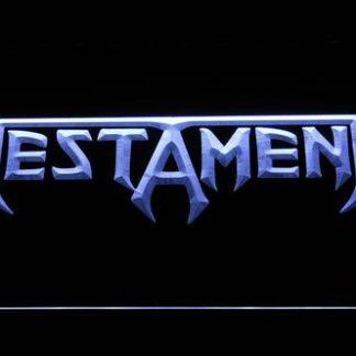 Testament neon sign LED