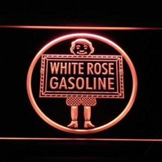 White Rose Gasoline - En-Ar-Co Boy neon sign LED
