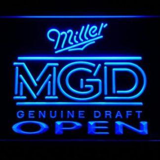 Miller MGD Open neon sign LED