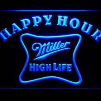Miller High Life Happy Hour neon sign LED