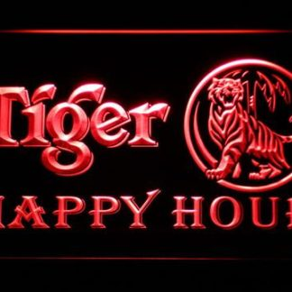 Tiger Happy Hour neon sign LED