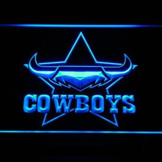North Queensland Cowboys neon sign LED