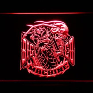 Big Red Machine neon sign LED