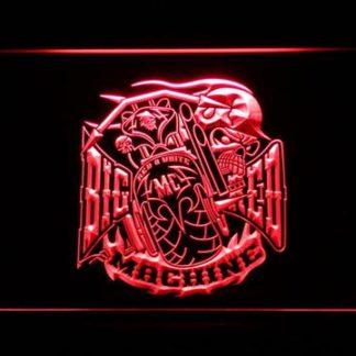 Big Red Machine neon sign LED