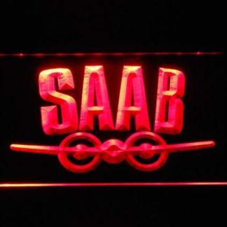 Saab Aeroplane Logo neon sign LED