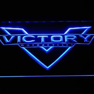 Victory Motorcycles neon sign LED