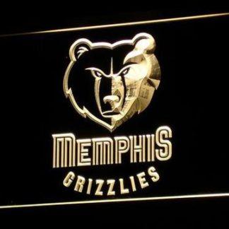Memphis Grizzlies neon sign LED