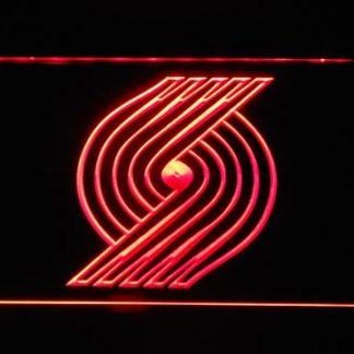 Portland Trail Blazers Pinwheel neon sign LED