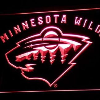 Minnesota Wild neon sign LED