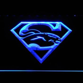 Denver Broncos Superman neon sign LED