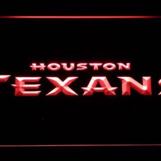 Houston Texans Text neon sign LED