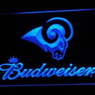 Los Angeles Rams Budweiser neon sign LED