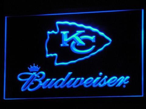 Kansas City Chiefs Budweiser Neon Sign Led Sign Shop Whats