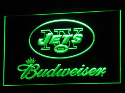 New York Jets Budweiser neon sign LED