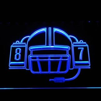 New England Patriots Rob Gronkowski Logo neon sign LED