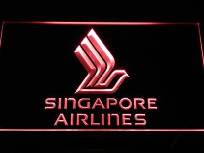 Singapore Airlines neon sign LED