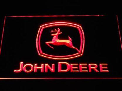 John Deere neon sign LED