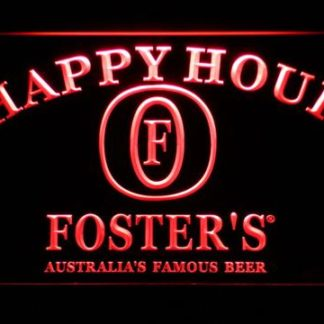 Foster's Happy Hour neon sign LED