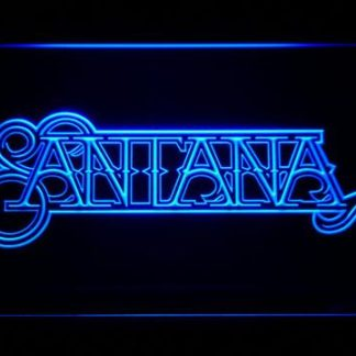 Santana neon sign LED